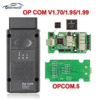 Czytniki kodu Skanowanie Narzędzia do diagnostyki OPCOM V1.99 OBD2 Scanner Scanner PIC18F458 FT232RQ PO COM V1.70 V1.95 może być flash aktualizacji op-com