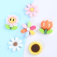 Novelty Items 6 Styles Wholesale Resin Flowers Modeling Hair Rope Hairpin Phone Case DIY Accessories W0240