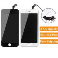 Various Brands, Quality Panels, High Brightness LCD For iPhone 6 Plus Grade A+++ Display Digitizer screen No Dead Pixels