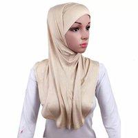 مخصص Wholale الصلبة scarv مسلم الحجاب الرقبة وشاح الشتاء وشاح للنساء