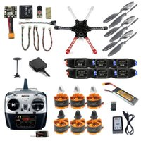 2,4G 8CH F550 RC DIY Quadcopter Unassemble Kit Mini Drohne FPV Aufrüstbar mit RadioLink Pix M8N GPS-Haltemodul Drohnen
