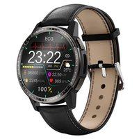 Medical Grade ECG PPG Smart Watch Men Clock Lung Health Respiration Rate Ture Blood Oxygen Thermometer Fitness Tracker Wristwatch Smartwatch Sport Watches Women