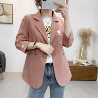 Fashion Thin Women Blazers Section Net Red 2021 Ladies Suits Designer Brand Female Casual Jackets Women's &