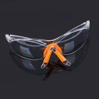 Açık Gözlük Moda Yumuşak Burun Köprüsü Gözlük Darbe Spor Rüzgar Geçirmez Kum Zımpara Toz Lazer Rüzgar ve Koruma Gözlük 1 ADET