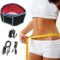 Drop Shipping Relief Loss 660Nm 850Nm Waist Slimming Lipo Infrared 635Nm 859Nm Laser Led Arm Belts Red Light Therapy Belt Wrap