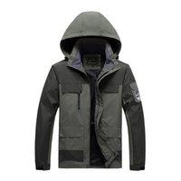 Erkek Ceketler Sonbahar Kış Su Geçirmez Mont Erkekler Bombacı Jacke Ceket Kadınlar Rüzgarlık Açık Eşofman Boy M-8XL 1VDS