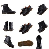 2021 Daily trend single product six-hole small leather shoes comfortable snow boots cool locomotive wind 36-45