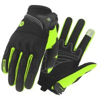 Spring Summer Bike Gloves MTB Motocross Breathable BMX Off Road Motorcycle 6 Colors Touch Screen Fingers Cycling