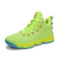 AN6234 Toptan Mans Basketbol Ayakkabı Kaliteli Erkekler Satılık Spor ayakkabı Deri Erkek Basketbollar Ayakkabı