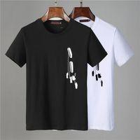 21ss Fashion men casual Mens Designer T Shirt Man Paris France Street Shorts Sleeve Clothing Tshirts Size M-3XL