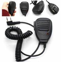 Walkie Talkie Pspeaker Micro BF-888S Microphone de haut-parleur d'épaule pour Baofeng UV-5R UV-82 UV-9R Radio Handheld UV-5RA Plus UV-6R