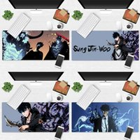 Mouse Pads & Wrist Rests Cool Game Solo Leveling Laptop Computer Mousepad Desk Table Protect Office Work Mat Pad Non-slip Cushion