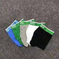 Hommes designers boxeurs marques sous-vêtements sexy hommes boxershorts shorts décontractés sous-vêtements stits de coton respirant respirant