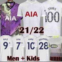 21 22 Dele Oğul Tottenham Balya Kane Futbol Forması Hojbjerg Bergwijn Lo Celso Spurs 2021 2022 Lucas Futbol Gömlek Üniforma Erkekler + Çocuklar Kiti
