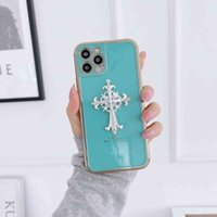 Designer Phone Top Leather Cases for I Mobile Crystal Croxin Plating Case Iphone 12Promax Apple 11Pro7 / 8 1 12