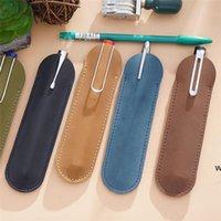 정품 가죽 분수 펜 케이스 홀터 파우치 연필 가방 보호 슬리브 커버 볼펜에 대 한 펜 DHA5358