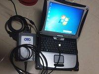 أداة الماسح الضوئي GTS OTC VIM OBD للأداة لتويوتا IT3 Global Techstream مع برنامج الكمبيوتر المحمول CF19 4G تثبيت مجموعة كاملة على استعداد للعمل