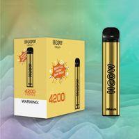 HCOW IMESH Disposable E Cigarette Device 650mAh Rechargable Batteries 10ml Prefilled Cartridge 4200 Puffs Vape Pen Kit Bang XXL Air Bar Puff Plus Geek