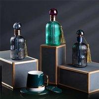 Vintage Perfume Glass Bottle Humidifier Household Sundries Portable USB Mini Air Humidification Ultrasonic Aroma Diffuser