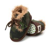 First Walkers Toddler Children Shoes Baby Girls Boys Boots Born Walker Kids Winter Warm Booty Infant Footwear Babe Fleece Sneaker