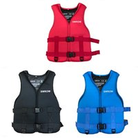 Life Vest & Buoy SWROW Adults Jacket Neoprene Safety Water Sports Fishing Ski Kayaking Boating Swimming Drifting