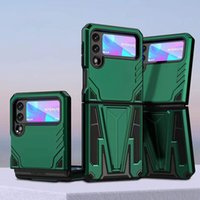 vertical kickstand phone cases armor shell cover protector for Samsung Galaxy Z Flip 3 fold3 5G