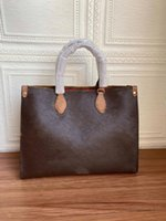2021 Сумасшедшие продажи мода женские сумки L бренд дизайнер сумка на плечо роскошь леди Tote Super A качественная подлинная кожа два размера бесплатная доставка