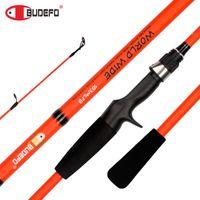 Boat Fishing Rods BUDEFO WORLD WIDE Casting Spinning Rod 1.8 1.83 2.1M Baitcasting EVA Handle Lure Rod5-20g ML