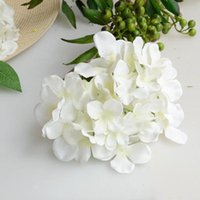 Decorative Flowers & Wreaths Artificial Hydrangea Bouquet Flower Silk With Free Stem For Home Wedding Decoration Gift MOUN777