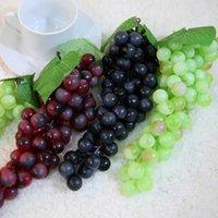 Flores decorativas guirnaldas de grapas artificiales de plástico Fruta falsa Mayos de la casa de la casa de la casa de la casa de la casa de la casa de la casa Mini simulación de las verduras MWR3