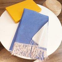 Теплый дизайнерский шарф Cashmere Womens Trackes Big Style Shaw Soft Scar мода зимние женщины дизайн шарфы высокое качество180x65см