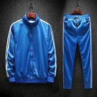 hoodies sweatshirts Youth student fashion slim fit men's sports long sleeve suit spring Lapel casual sweater b582 U7K9