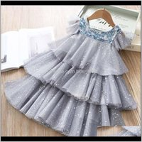 Dresses Baby Clothing Baby, Kids & Maternitykids Princess Dress Summer Puffy Lace Mesh Layer Sequined Fairy Party Costume Wedding Birthday Ch