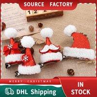Christmas Children Birthday Festive Hair Ornament Holiday Headdress Duckbill Clip Sweet Selling Cute Headbands Adult Hairpin Head Buckle