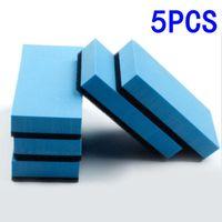 Car Sponge Set Coating Sponges Kit Blue+Black Ceramic Glass Polishing