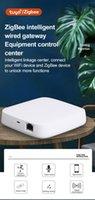 Akıllı Ev Kontrol Kablolu Ağ Geçidi Tuya Uzaktan Bağlantı Cihazı Wifi Merkezi Ana Bilgisayar Desteği 30+ Cihazlar Online