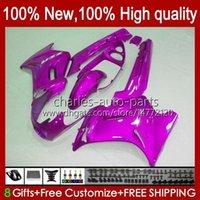 Körper für Kawasaki Pink Glossy Ninja ZZR250 90 91 92 93 94 1996 1996 1997 1998 1999 Körperarbeit 54hc.119 ZZR 250 CC ZZR-250 1990 1991 1992 1993 1994 95 96 97 98 99 OEM-Verkleidung