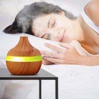 Fragrance Lamps Divv 300ML Ультразвуковой увлажнитель Ударитель Очиститель СИД Эфирным маслом Диффузор 7 Цвета Изменение Технологии распылителя Немой дизайн Humidifie