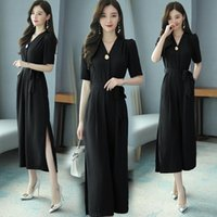 Women's Jumpsuits & Rompers 2021 Summer One Piece Pants Elegant Womens Jumpsuit High Waist Sexy Playsuit Women Pastei Overalls For