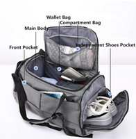 15 inch Gym Bag Multifunction Men Sports Bags Woman Yoga Fitness Bags Laptop Backpacks Hand Travel Storage Bag With Shoes Pocket Y0721