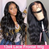 Lace Wigs 30 Inch Wavy Body Wave Front Wig Transparent Frontal Brazilian 13X4 Human Hair Preplucked