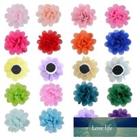 50 100pcs Dog Collar Flowers Pet Bow Tie Charm Collars Puppy Slides Decoration Grooming Accessories