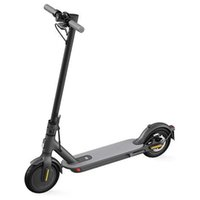 Electric Scooter Foldable Portable Commuting Bicycle Up to 30km Max Mileage 42V 25km h 8.5in Tires Long-Range Battery for Adults Teens Black White