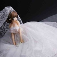 Vestido de novia Fuzi Xiyuan Temple Animación Dres Dimensional Kendo Girl Juguete Hecho A Mano Detachable Chasis Modelo Adorno