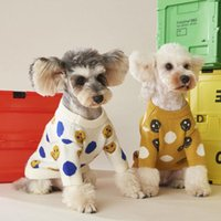Dog Apparel Clothes Autumn And Winter Logo Knitwear Sweaters Cute Small Medium Sized Teddy Schnauzer Two Legged Pet Outfit