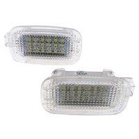 1 pareja LED Lámpara de cortesía Puerta de coche Luz bienvenida para Mercedes-Benz W204 W216 R230 x164 x204 C197 C E S Cl Sl R M G Gl Glk Class
