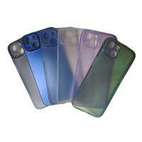 0.3mm ultra mince Slim Matte Coffre de téléphone givré couvert entièrement couvert couverture PP flexible pour iPhone 12 Mini 11 Pro Max x XS XR 8 7 Plus SE DHL