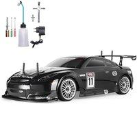 Tvåhastighets fjärrkontroll Racing bilförhållande 1:10 Fjärrkontroll Racingbil Höghastighet 4x4 Power Toy Racing Car Födelsedaggåva för barn