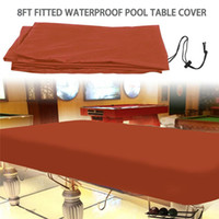 Table Cloth Billiard Pool Cover Heavy Duty Waterproof Sun Rain Snow Dust Protection 600D Oxford For Furniture Covers JS23