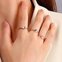 Ins корейский yin yang tai chi сердце кольца женщин мужчины сплетни капельные глазури шарм старинные золотые металлические тонкие круга эмаль кольцо Y2K ювелирные изделия
